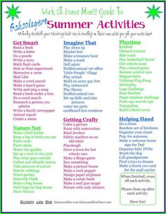 Fun ways to keep kids busy at home this summer!