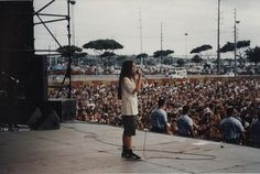 Another great memory from the scrapbook, taken at the last show of the jagged little pill tour in Hawaii http://www.alanis.com/2012/04/23/alanis-scrapbook-27