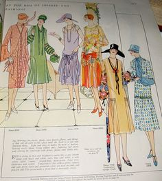 Delineator  August 1926 Fashions