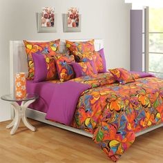 #Berry Mania Swayam Colors of Life #BedSheets - 2415