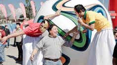 The FIFA World Cup™ Trophy Tour by Coca-Cola in Guatemala on 4 February 2014