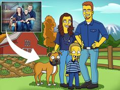 Unique gift for your family and friends Character Illustration, Illustration Art, Illustrations, Most Popular Cartoons, Simpsons Characters, A Cartoon, Graphic Design Services, Art Day, Caricature