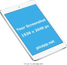 Add your mobile app screenshot image to an iPhone frame, iPad frame or Android device frame. Ipad Image, Ipad Air 2, Ios App, Apple Ipad, Mobile App, Mockup, Marketing, Iphone, People