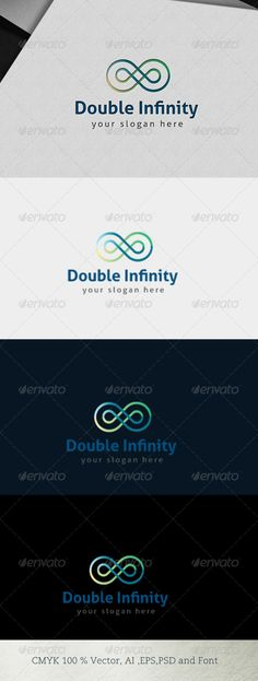 Logo for sale just 29$ Double Infinity
