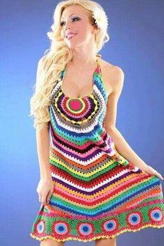 Marvelous Crochet A Shell Stitch Purse Bag Ideas. Wonderful Crochet A Shell Stitch Purse Bag Ideas. Crochet Skirts, Crochet Clothes, Knit Crochet, Crochet Books, Crochet Stitch, Dresses For Teens, Trendy Dresses, Summer Dresses, Estilo Hippie