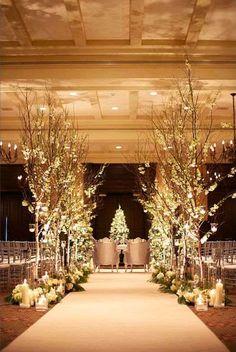 decoração de casamento com elementos florais