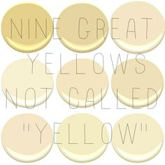 1000 images about creamy pale yellow paint colors on for Best neutral yellow paint colors