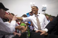 On This Day: President Obama in Sioux City, IA, September 1, 2012 (Photo by Scout Tufankjian)