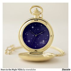 Stars in the Night VZS2 Pocket Watch