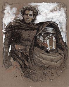 Kylo Ren - Star Wars: The Force Awakens - Tony Harris