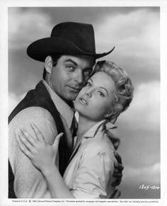 Western Film, Western Movies, Yvette Mimieux, Rory Calhoun, Old Movie Stars, Hollywood Actor, Classic Hollywood, Universal Pictures, Old Movies