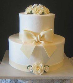 Torte nuziali semplici (Foto 4/40)   Donna