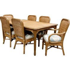 Beachside Wicker Dining Room Set Capris Furniture Dining Series