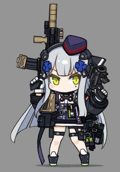 주은 소전짤 | 소녀전선 - 팬아트 | 루리웹 Anime Military, Military Girl, Character Concept, Character Art, Character Design, Cartoon Sketches, Girls Frontline, Anime Artwork, Anime Chibi