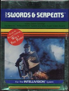 Swords & Serpents for Intellivision..My parents would spend HOURS playing this game!
