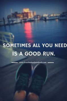 in-pursuit-of-fitness: Running is my therapy. When Im in a bad...