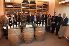 Borja Sarasola, ha acudido al cierre del período de la vendimia de los Vinos de Madrid.