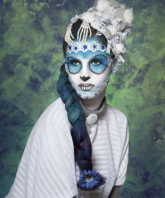 Catrinas, Fanny Burgos, sugar skull