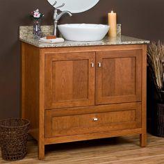 """36"""" Alcott Vessel Sink Vanity - Bathroom Vanities - Bathroom"""