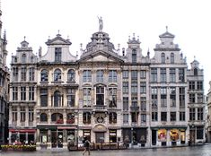 Guildhalls on the Grand Place, Brussels, Belgium. Wonderful Places, Great Places, Places To See, Beautiful Places, Amazing Places, Vacation Places, Places To Travel, Places Around The World, Around The Worlds