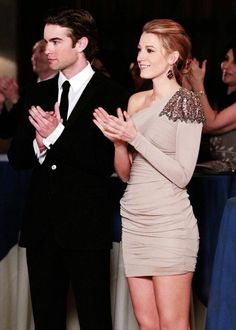 Chace Crawford and Blake Lively <3
