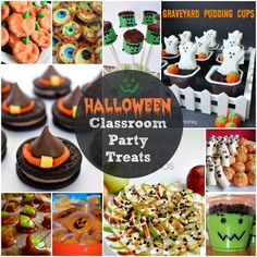 EASY Halloween Party Classroom Treats   ATTENTION ROOM MOMS – this post is for all of you!!!  (Julie – my Room Mom partner – you best be reading this!!) Every year the pressure gets greater for some yummy and scary snacks for the much anticipated classroom Halloween party.  So us Room Moms need to keep …