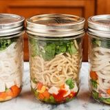 Refrigerate your instant noodle cups for up to a week.