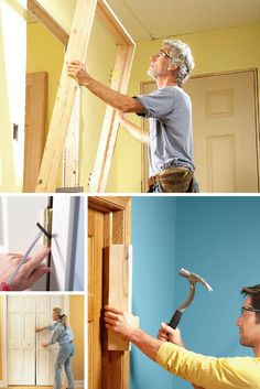 All About Doors: Browse these projects, tips and ideas for all the doors in your home for ways to make them energy efficient, update the hardware and repair closing issues. Read more: http://www.familyhandyman.com/doors