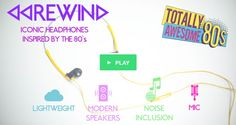 Crowdfunding Revives 80s Music headphones + speaker