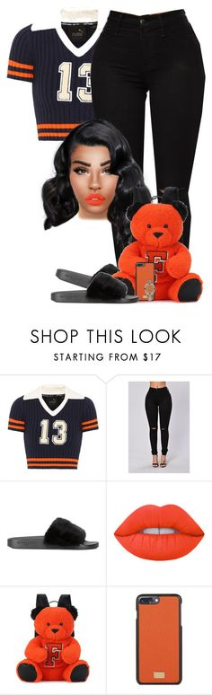 """""""Party Monster"""" by chiamaka-ikaraoha ❤ liked on Polyvore featuring Puma, Givenchy, Dolce&Gabbana and Rolex"""