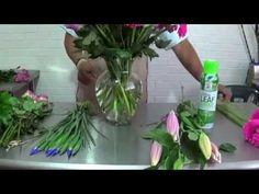 Arreglo con Tulipanes Rojos y Rosas Big Element - YouTube