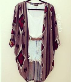 Oversized sweaters are my fav! #boho #fashion