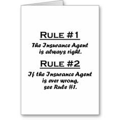 Rule Insurance Agent Cards Source by bryanspahn Life Insurance Premium, Life Insurance Agent, Insurance Humor, Whole Life Insurance, Insurance Marketing, Life Insurance Quotes, Term Life Insurance, Insurance Broker, Life Insurance Companies