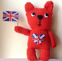 Great British Teddy Bear Knit Kit