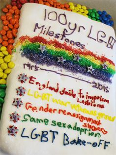 Check out the amazing cakes baked by these school kids for UK LGBT History Month...