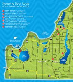 Sleeping Bear Loop   Leelanau Peninsula Wine Trail