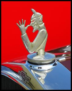 Hood ornament on an old Chevy..Re-pin brought to you by agents of #carinsurance at #houseofinsurance in Eugene, Oregon
