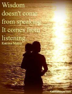 Wisdom quote via www.KatrinaMayer.com