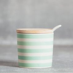 Susie Q Canister - Relish Decor Beer Bread Mix, Painting Patterns, Canisters, Bamboo, Planter Pots, Best Gifts, Spices, Mint, Ceramics