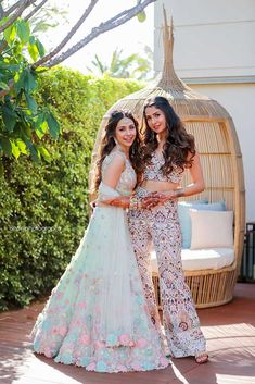 An Extravagant Destination Wedding Of Celebrity Stylist Sonaakshi Raaj In Hua Hin! Check out photos, ideas & stories shared by Bride & Groom. Indian Reception Outfit, Indian Wedding Guest Dress, Party Wear Indian Dresses, Indian Gowns Dresses, Dress Indian Style, Indian Fashion Dresses, Indian Wedding Outfits, Indian Designer Outfits, Bridal Outfits