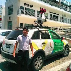 Casual navegando con en carrito de #Google #maps #mexico #monterrey #mty #sanpedro #street #view  #navegation #car #automovil