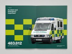 Ambulance Service - Colin Bennett (shadow makes image look three dimensional)