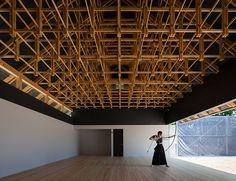 Kogakuin University Archery Ground Boxing Ring in Tokyo, Jp by Shigeo Ogawa Studio