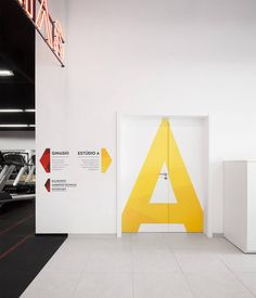View full picture gallery of Kalorias Club Montijo Door Signage, Directional Signage, Wayfinding Signs, Office Signage, Environmental Graphic Design, Environmental Graphics, Design Museum, Stand Design, Web Banner
