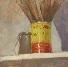 """""""Studio Still Life"""" - a daily painting by Jimmy Craig Womble II – sideshow art"""