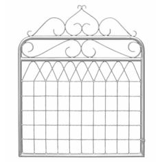 RapidMesh™ ornamental federation style gates are designed to provide a decorative and heritage look and feel to your home. Made from galvanised steel, they incorporate appealing decorative mesh and scroll designs. They are easy to install and ready to prime and paint to any colour of your choice. The required hinges available separately - Downee Saddle hinges (two required) and Downee two-way latch (butterfly).   RapidMesh™ 1 x 1.2m Balmain Galvanised Federation Gate Gate Decoration, Front Fence, Gate Design, Garden Gates, Herb Garden, Galvanized Steel, Google Shopping, Balmain, Hardware