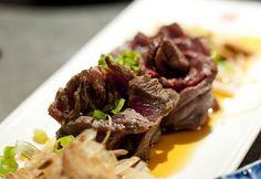 Beef Tataki Beef Tataki, Food Styling, Vancouver, Steak, Photography, Gourmet, Gastronomia, Dish, Steaks