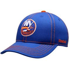 finest selection abfa3 1113b New York Islanders Reebok Youth Basic Structured Adjustable Hat - Royal