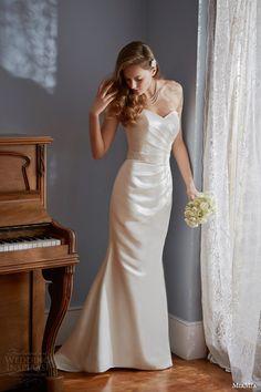 miamia #bridal 2014 strapless #wedding dress legato #weddingdress #weddings #bridal See more at: http://www.weddinginspirasi.com/2014/06/17/miamia-bridal-2014-wedding-dresses-rhapsody-bridal-collection/
