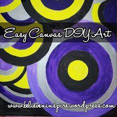 Easy Canvas Wall Art